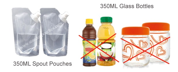 350ML Glass Bottles
