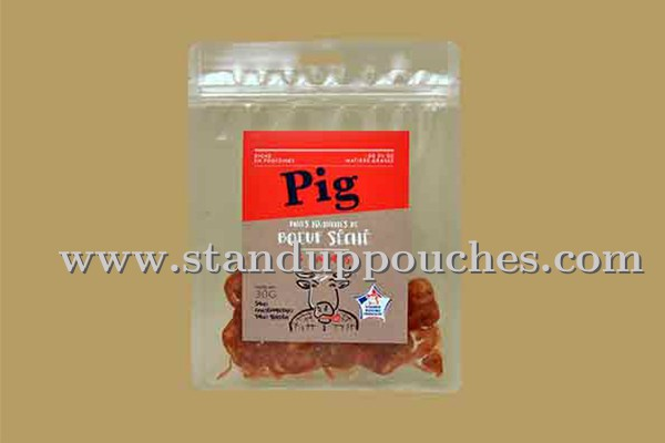 Beef Jerky Packaging -pig