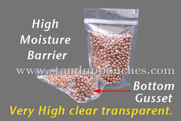 Oxygen Barrier Clear Bags